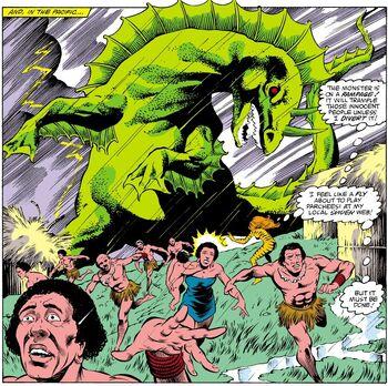 Mutant Godzilla