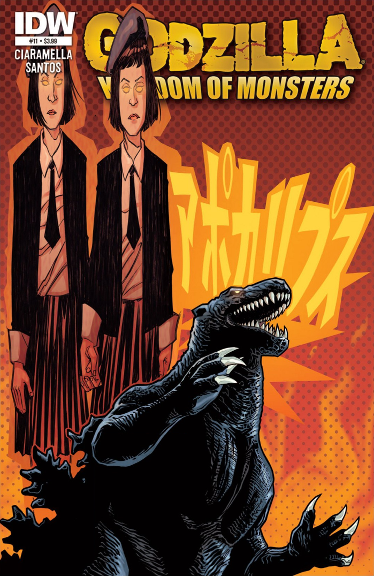 Godzilla: Kingdom of Monsters Issue 11