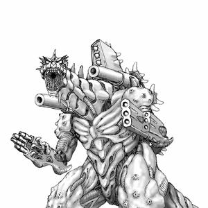Concept Art - Godzilla Against MechaGodzilla - Kiryu 11.png