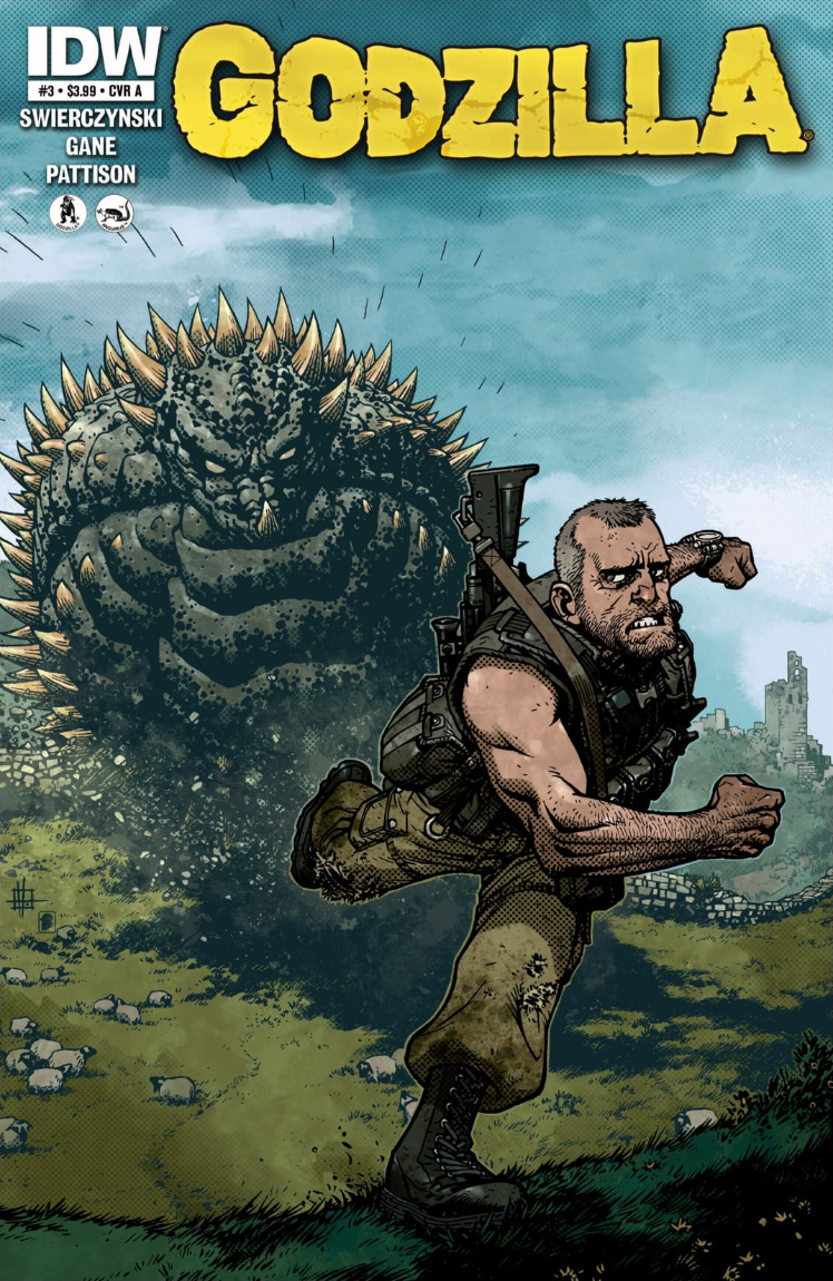 Godzilla: Ongoing Issue 3