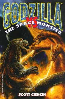 Godzilla vs. Space Monster book cover