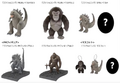 Sega Godzilla vs. Kong plushes and toys