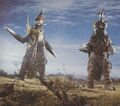 GVM - Gigan and Megalon Before They Attack Godzilla