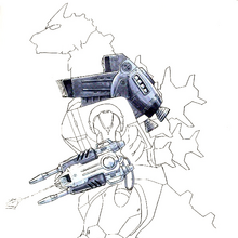 Concept Art - Godzilla Against MechaGodzilla - Kiryu 19.png