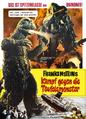 Godzilla vs. Hedorah Poster Germany