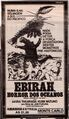 Ebirah, Horror of the Deep Poster Brazil 1
