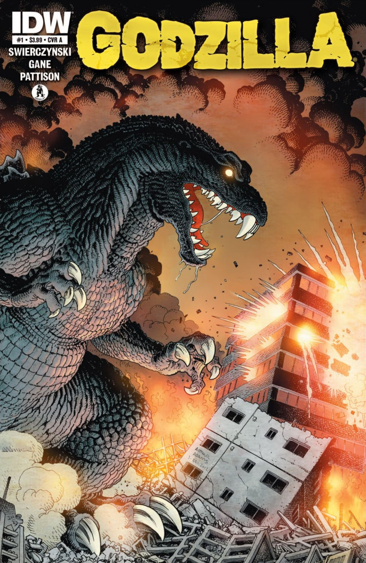 Godzilla: Ongoing Issue 1