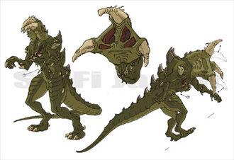 Chameleon concept art