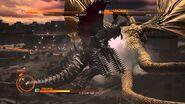 Gigan vs King Ghidorah