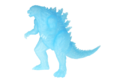 Godzilla Planet of the Monsters - Transclearant Godzilla figure
