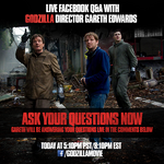 LIVE QUESTIONS AND ANSWERS GARETH EDWARDS GODZILLA 2014 FACEBOOK