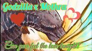 Godzilla x Mothra~ Can you feel the love tonight?
