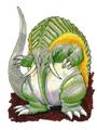 Concept Art - Mothra vs. Bagan - Bagan 33