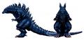 Concept Art - Godzilla 2000 Millennium - Godzilla 32