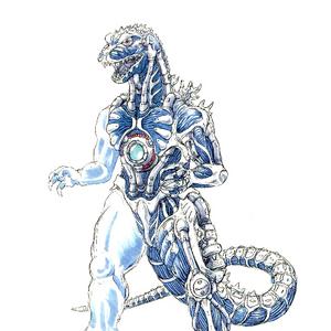 Concept Art - Godzilla Against MechaGodzilla - Kiryu 16.png
