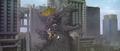 Godzilla vs. Megaguirus - Godzilla wakes up