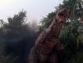 Godzillasaur's bleeding chest