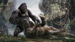 Kong Breaks V-Rex's Jaw