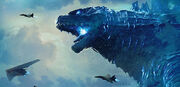 US-amerikanischer Godzilla aus dem Jahr 2019