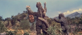 All Monsters Attack - Godzilla escapes the shocking attack