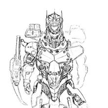 Concept Art - Godzilla Against MechaGodzilla - Kiryu 15.png