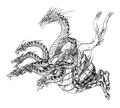 Concept Art - Yamato Takeru - Orochi 6