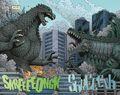 Godzilla Rulers of Earth Godzilla vs Zilla