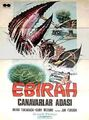 Ebirah, Horror of the Deep Poster Turkey 1