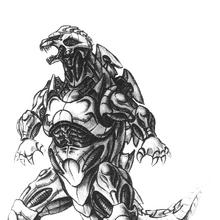 Concept Art - Godzilla Against MechaGodzilla - Kiryu 54.png
