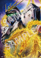 Godzilla The Planet Eater - Gundam x Godzilla poster - Gundam side