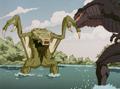 Zilla Junior vs Swamp Beast