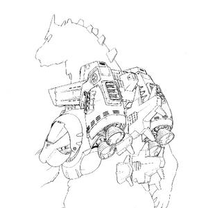 Concept Art - Godzilla Against MechaGodzilla - Kiryu 21.png