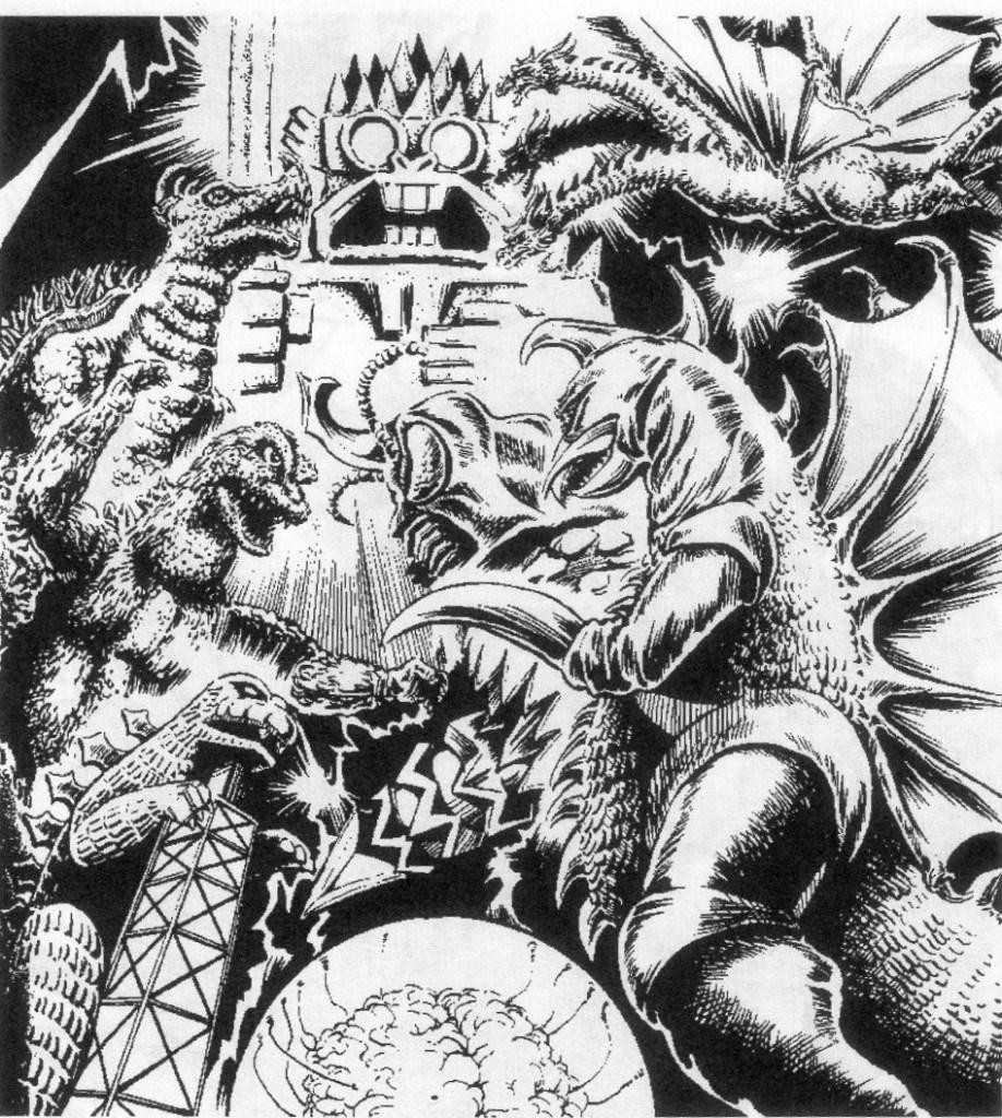 Godzilla vs. the Space Monsters: Earth Defense Directive