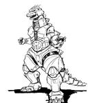 Concept Art - Godzilla Against MechaGodzilla - Kiryu 28.png
