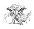 Concept Art - Rebirth of Mothra 2 - Dagahra 16