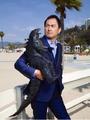 Ken Watanabe and Godzilla