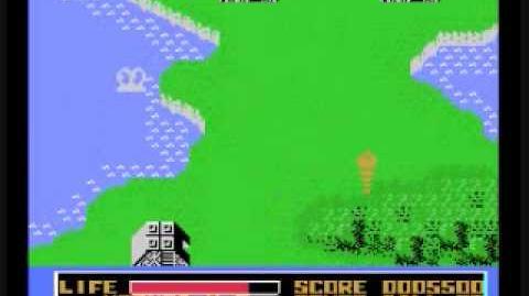 Monster's Fair (MSX Mothra Game, Gameplay Pt