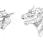 Concept Art - Godzilla Against MechaGodzilla - Kiryu Head 4.png