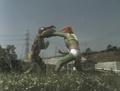 Go! Greenman - Episode 3 Greenman vs. Gejiru - 22