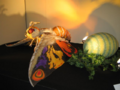 Suit and Puppet Museum - Mothra and her egg