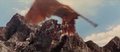 All Monsters Attack - Giant Condor flies in while in stock footage form 6