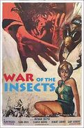 War of The Insects American poster