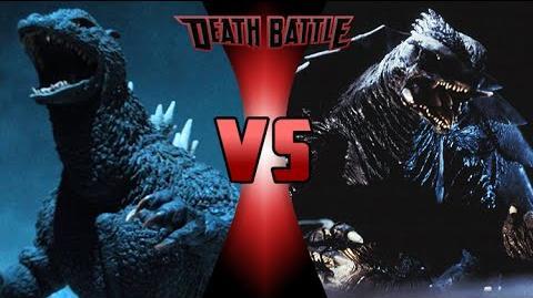 Godzilla VS Gamera DEATH BATTLE! En español