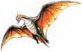 Concept Art - Godzilla vs. MechaGodzilla 2 - Rodan 6