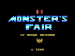 Monster's Fair - Title Screen