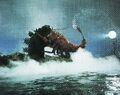 EHOTD - Godzilla and Ebirah Hug Battle With a Spotlight