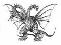 Concept Art - Rebirth of Mothra 3 - Cretaceous King Ghidorah 5