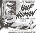 Half Human American Poster