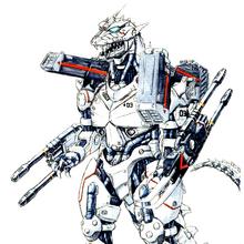 Concept Art - Godzilla Against MechaGodzilla - Kiryu 55.png