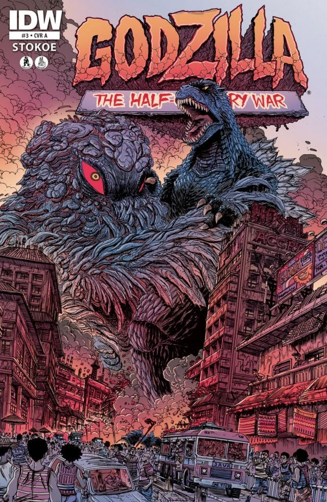 Godzilla: The Half-Century War Issue 3